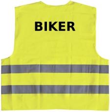 Biker Warnweste