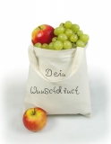 500x Cotton bag medium with 2-color printing