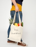 2500x Cotton bag, long handles, Basic with printing